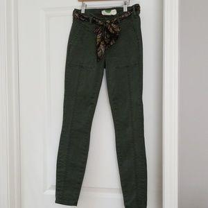 🍂Anthropologie- skinny pants